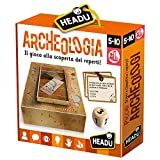 Headu- Archeologia Gioco da Tavola, Multicolore, IT24216