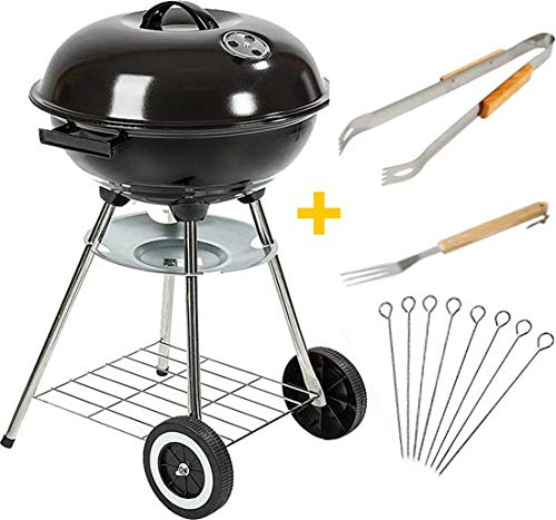 Maxx Barbecue à Charbon - BBQ Grill - 45cm + Accessoires
