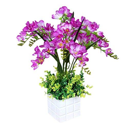 Zhhlinyuan Künstliche Pflanze Blume...