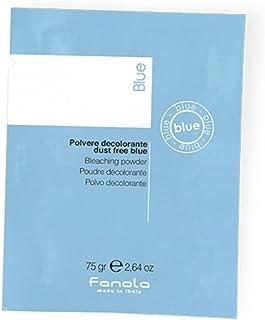 """Fanola DECOLORACIÃ""""N Polvo Compacto Azul Decolorante 75GR - 1 SOBRE - Mechas, golpes de sol, balayages, decoloraciones y decapados - PROFESIONAL"""