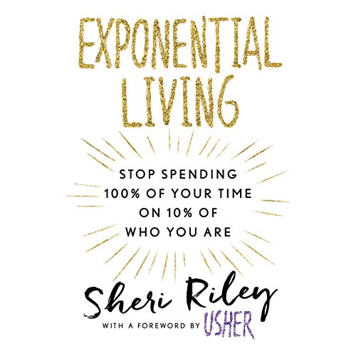 Exponential Living audiobook cover art