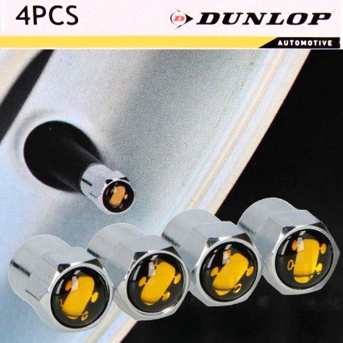 Dunlop Radmerkerset Reifenmarkierer Ventilkappen Auto Ventil Felgen Sommerreifen Winterreifen