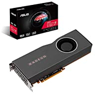 ASUS AMD Radeon RX 5700 XT PCIe 4.0 VR Ready Graphics Card with 8GB GDDR6 Memory and Support for up to 6 Monitors…