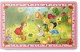 Erdbeerinchen Erdbeerfee. Melamin-Brettchen Motiv 'Laternen'