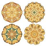 Mandala Gold Tones / 20 pcs Assorted
