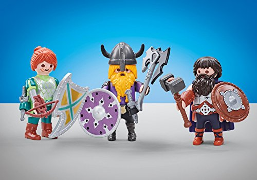 Playmobil 6588 - 3 Chevaliers Nains - Emballage
