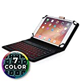 Cooper Backlight Executive Étui Clavier Tablette 7' - 8' Coque Cuir 2-1 Folio &...