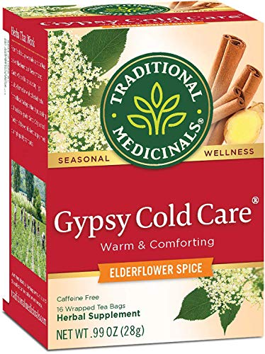 Traditional Medicinals Seasonal Tea, Gypsy Cold Care, Pack of 2