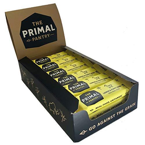 The Primal Pantry Barritas (Semilla De Limón Y Amapola) - sin azúcar añadido, sin...