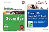 Comptia Security+ Sy0-501 Pearson Ucertify Course and Labs and Textbook Bundle