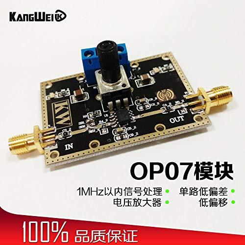 OP07 Modul Single Path Low Deviation Spannungsverstärker 1MHz weniger als Signalverarbeitung Low Offset