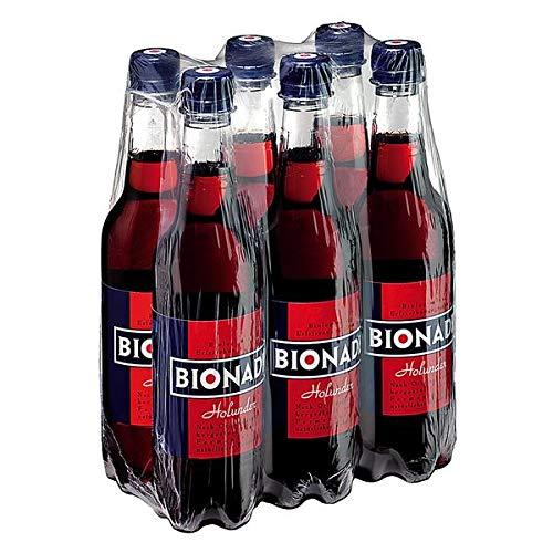 Bionade Holunder - 6x0,5l Flaschen (PET) - inkl. 1,50 EUR Pfand
