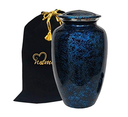 Memorials4u Forest Blue Cremation Urn