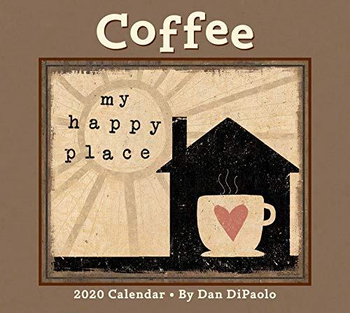 Coffee 2020 Deluxe Wall Calendar