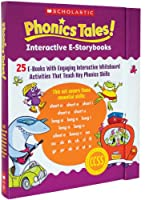Phonics Tales! + Interactive E-storybooks: 25 E-books With Engaging Interactive Whiteboard Activities That Teach Key Phonics Skills