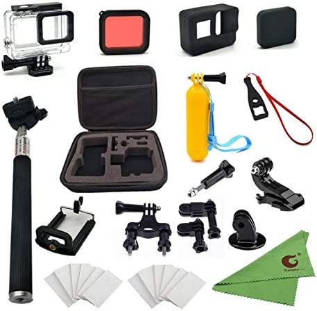 Xixihaha 28 in 1 Action Camera Accessory Kit Compatible with GoPro Hero7 6 5 4 3 for Yi AKASO product image