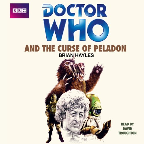 Doctor Who and the Curse of Peladon audiobook cover art