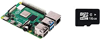 Raspberry Pi 4 Modelo B 2 GB RAM versión con Micro SD de 16 GB precargada con Noobs