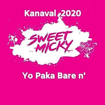 Yo Paka Bare N' - kanaval 2020