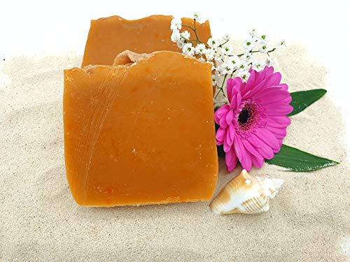 Pina Colada Seife, Duschseife, vegan, ohne Palmöl, handgemachte Naturseife von kleine Auszeit Manufaktur