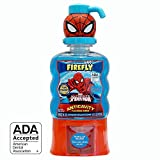 Firefly Anti-Cavity Mouth Rinse - Spider-Man (16 Ounce, Pack of 4)