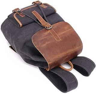 Sturdy Fashian Retro Backpack Crazy Horseskin Travel Backpack College Wind Bags Large Capacity