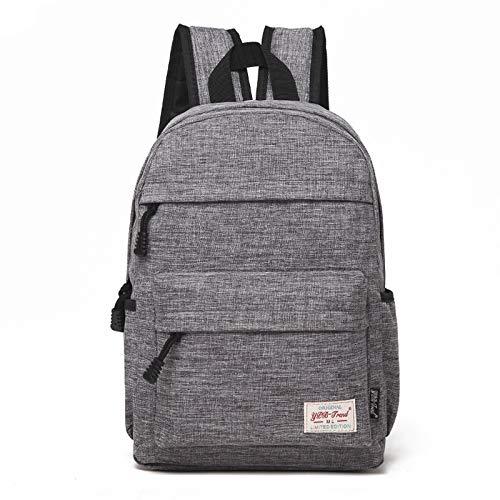 Luoshan múltiples funciones universal del paño de la lona bolsa de ordenador portátil hombros pausado Backpackage Estudiantes Bolsa, Tamaño: 36x25x10cm, for 13.3 pulgadas y por debajo de Macbook, Sams