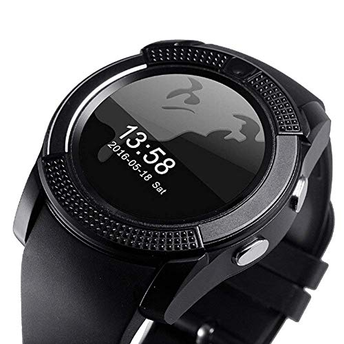 AJO V8 Smart Watch Bluetooth Smartwatch Compatible with All...