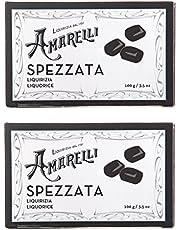 Amarelli Regaliz Spezzata Regaliz Puro Sin Aromas En Trozos Irregulares - 200 gr