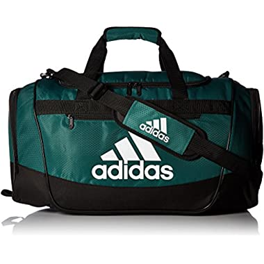 adidas Defender III Duffel Bag, Green/Black/White, Small