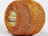 Copper Gold Metallic Braid Thread Camellia #50147-20 Gram