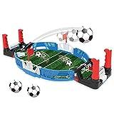 Garosa Juego de Mesa de fútbol ABS Tablero de Juego Educativo Juguete de fútbol Juguete Interactivo para Padres e Hijos para Regalo de niños