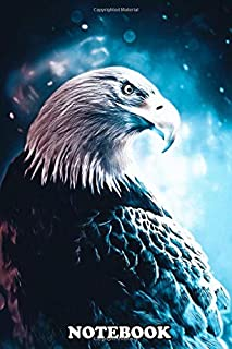 Notebook: King Of Eagle , Journal for Writing, College Ruled Size 6