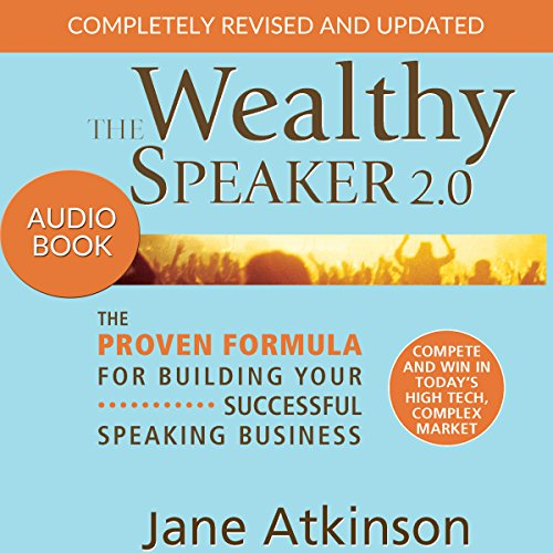 The Wealthy Speaker 2.0 audiobook cover art