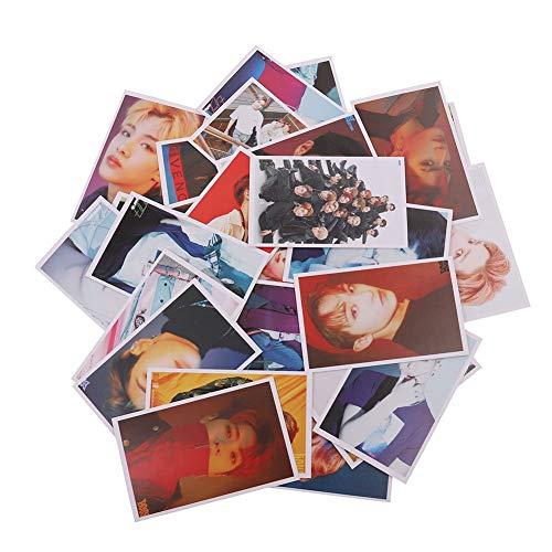 Yovvin 30 Stück BTS Fotokarten, KPOP BTS/EXO / GOT7 / NCT/BIG BANG/TWICE / SEVENTEEN/WANNA ONE Photocard, Sammlung und Beste Geschenk für The ARMY und The Fans (NCT)