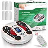 Foot Circulation Stimulator Machine OSITO EMS Massager for Feet Circulation Machine with 4 Electrode Pads TENS Unit for Body Calf Leg Acupuncture Stimulation Therapy Relieve Nerve Pain