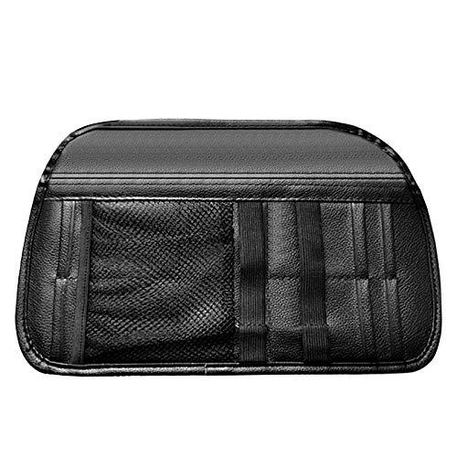 Organizador de visera para coche, organizador de bolsillo, organizador de bolsillo, soporte de bolsa de almacenamiento para camiones con red de múltiples bolsillos