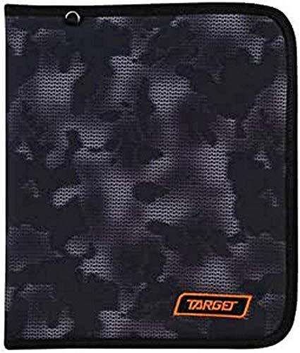 Target Cible Kids 'Mimetic Clip Folder, Noir, Taille Unique
