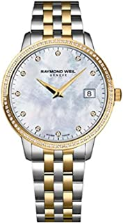 Women's Toccata Quartz Watch with Stainless-Steel Strap, Two Tone, 20 (Model: 5388-SPS-97081)