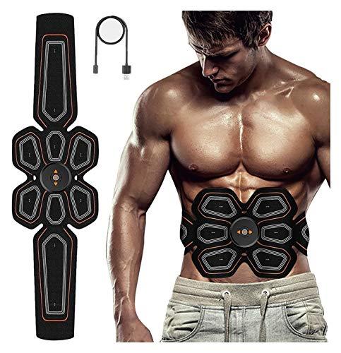 YDL Electronic ABS Tonificación Cinturón De Entrenamiento Pulso Estimulador Abdominal Máquina De Tóner Muscular EMS Cintura Trimmer Equipo Fitness Entrenamiento