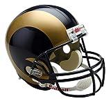 Riddell - Réplica a tamaño real del casco de los St. Louis Rams