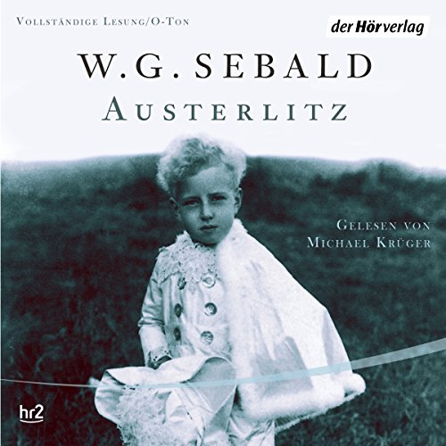 Austerlitz audiobook cover art