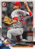 2018 Bowman #78 Jack Flaherty RC Rookie St. Louis Cardinals Baseball Card. rookie card picture