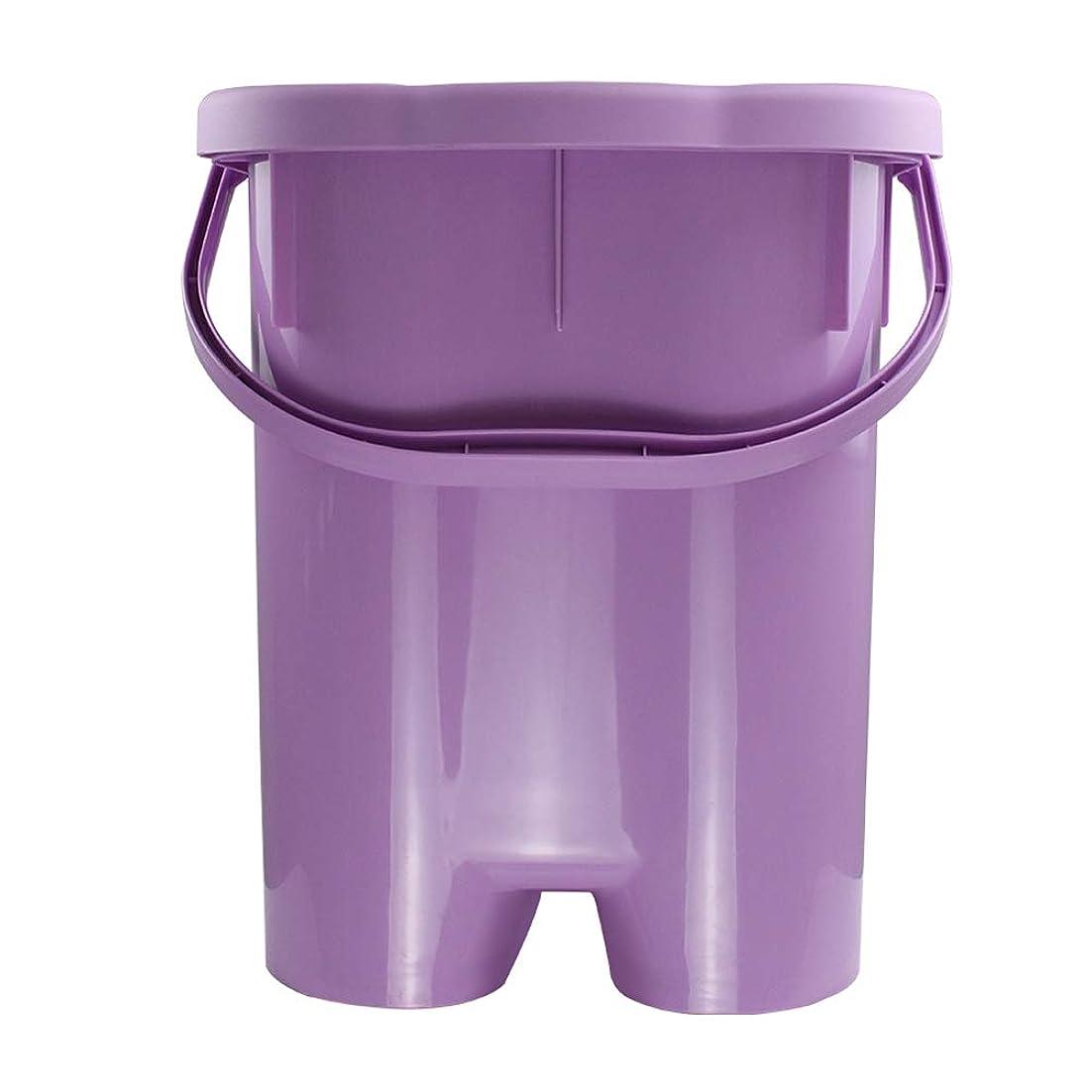 憧れありがたい肥沃な家庭用シンプルな発泡盆たたみ足湯発泡バケツバレル深いバレルポータブル厚いプラスチックフォーム盆地