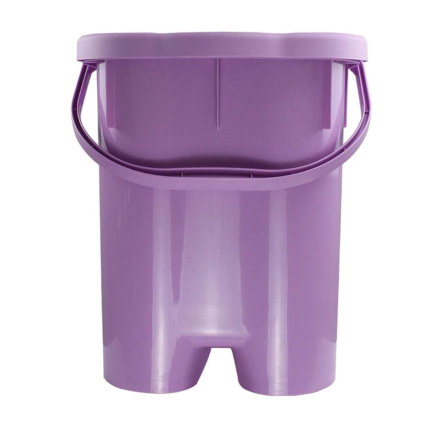 年金キャプションまだ家庭用シンプルな発泡盆たたみ足湯発泡バケツバレル深いバレルポータブル厚いプラスチックフォーム盆地