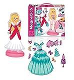 Diset63268Educational Board Game–Magnetic Princess Dress