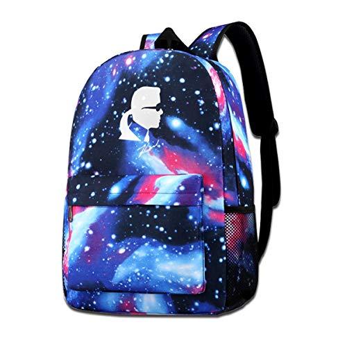 Rip Karl Lagerfeld Mochila con estampado de galaxia para ni