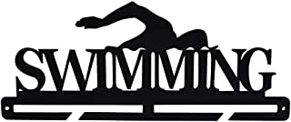 Medal Holder Display Hanger Rack Medals Brown Medal Holder Wall Mount Swimming Multiple Medal Frame Holds Upto 24-30 Medal...