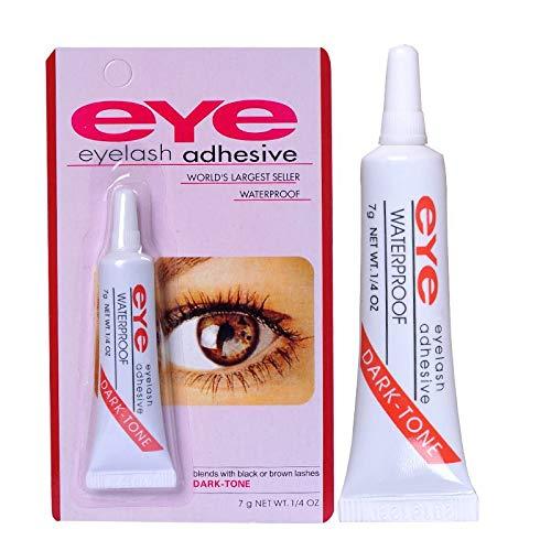 Colle Adhésive pour Faux Cils, 7g Professionnel Colle à faux-cils pour Extensions de Cils Eyelash Adhesive waterproof