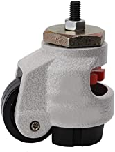 Material Handling Products GD-40S/60s/80s Heavy Duty Level Adjustment Caster/Wheel with Thread Ajustable Industrial Caster...